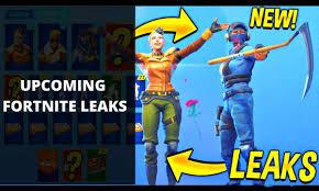 Fortnite Leaked Skins Season 12