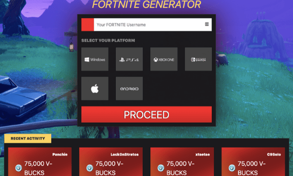 Free v bucks Generator Real 2020