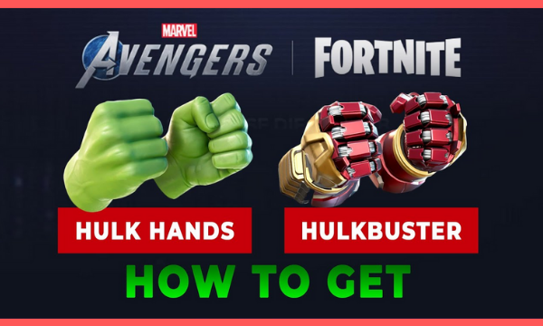 how to get hulk hands in fortnite