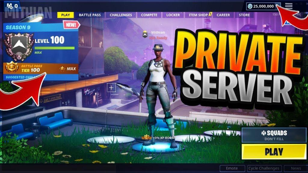 fortnite private server