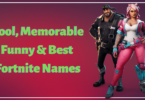 Cool Fortnite Names