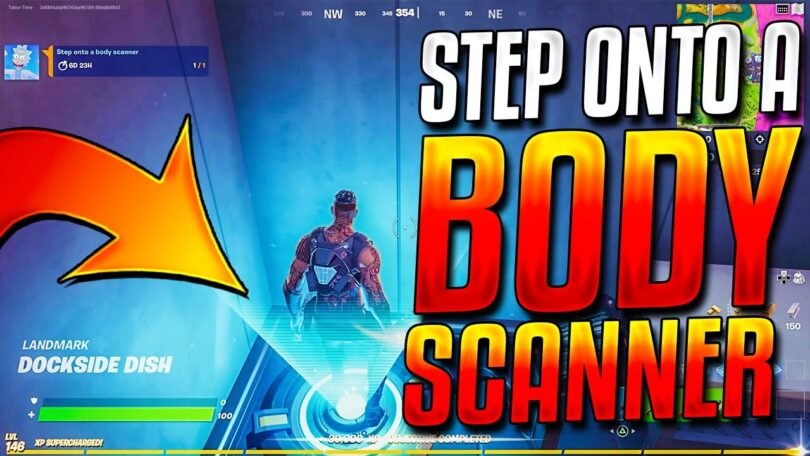 What is a body scanner in Fortnite